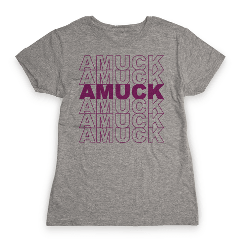 Amuck Amuck Amuck Thank You Hocus Pocus Parody Womens T-Shirt