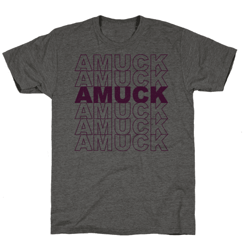 Amuck Amuck Amuck Thank You Hocus Pocus Parody Mens T-Shirt