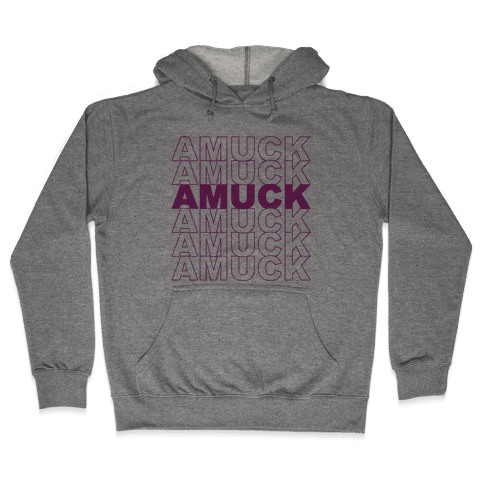 Amuck Amuck Amuck Thank You Hocus Pocus Parody Hooded Sweatshirt