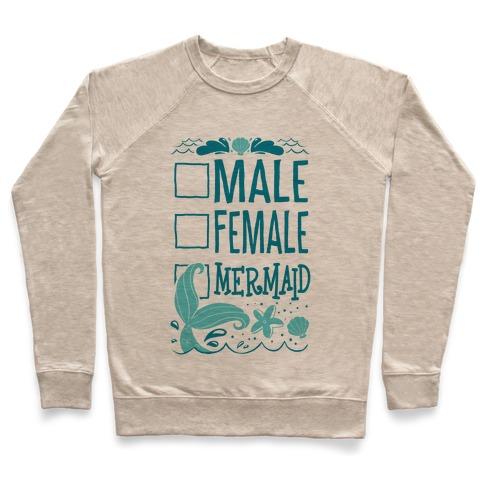 Male, Female, Mermaid Pullover