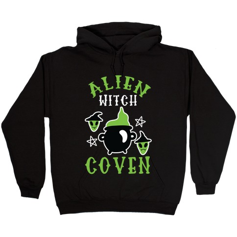 Alien Witch Coven Hooded Sweatshirt