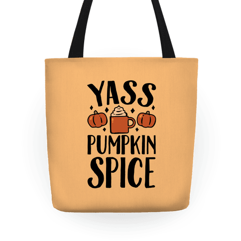 Yass Pumpkin Spice Tote