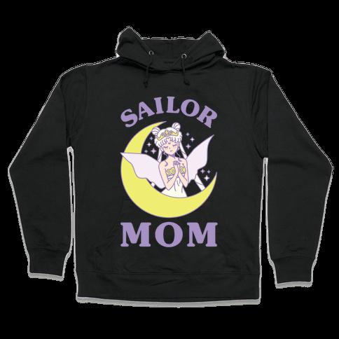 Sailor Mom Hooded Sweatshirt