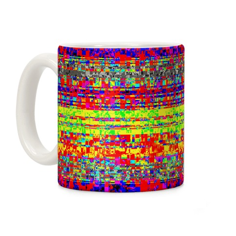 Glitch pattern Coffee Mug