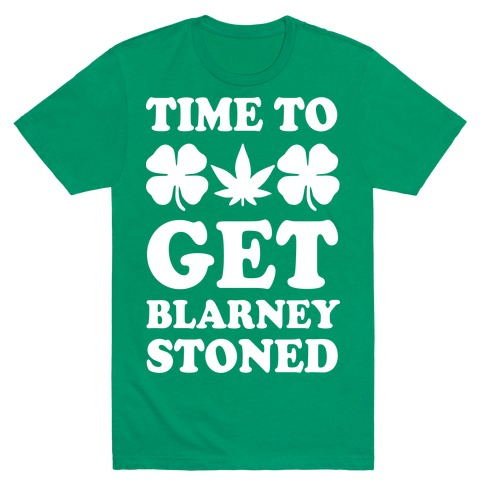Time To Get Blarney Stoned Mens T-Shirt