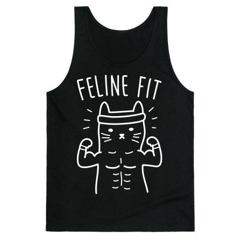 Feline Fit (White) Tank Top