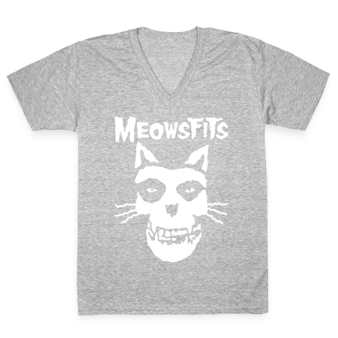 Meowsfits V-Neck Tee Shirt