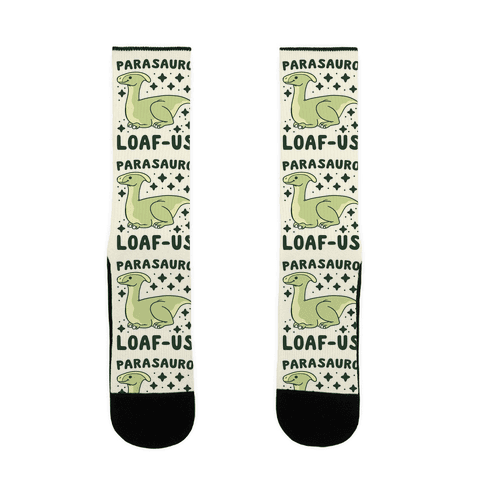 Parasauro-LOAF-us Sock