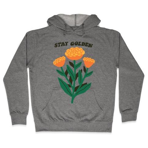 Stay Golden Marigolds Hooded Sweatshirt