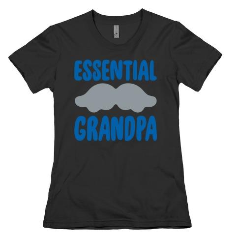 Essential Grandpa White Print Womens T-Shirt