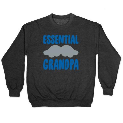 Essential Grandpa White Print Pullover