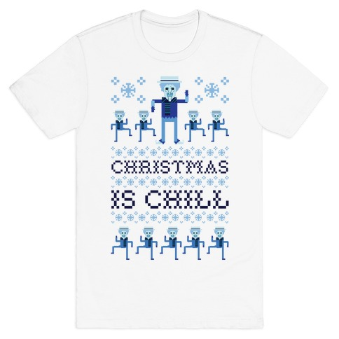 Christmas Is Chill Snow Miser T-Shirt