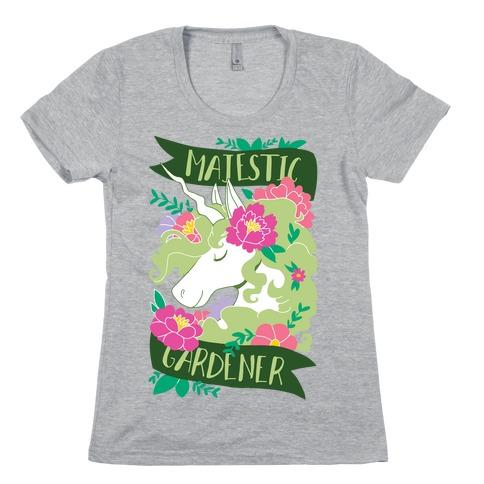 Majestic Gardener Womens T-Shirt