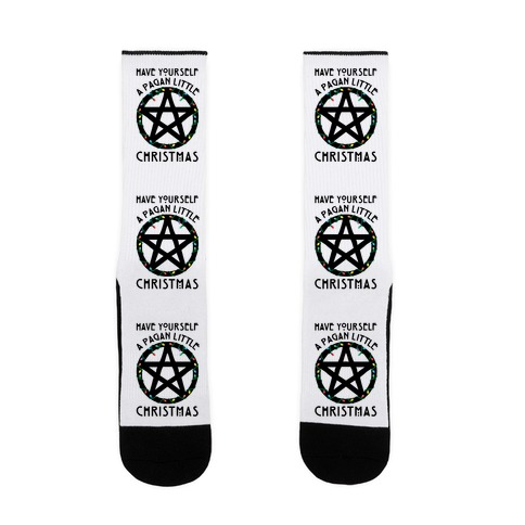 Have Yourself A Pagan Little Christmas Parody Sock