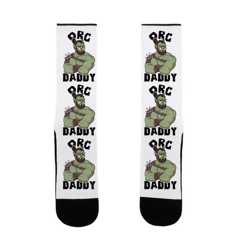 Orc Daddy Sock