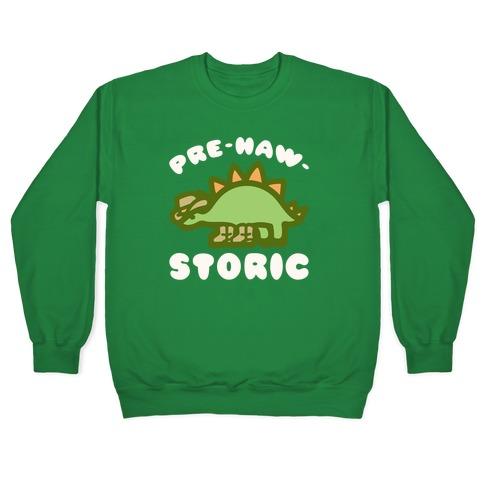 Pre-Haw-Storic Pullover
