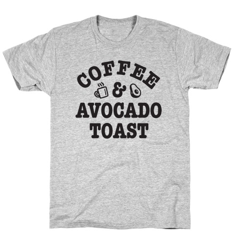 Coffee & Avocado Toast T-Shirt