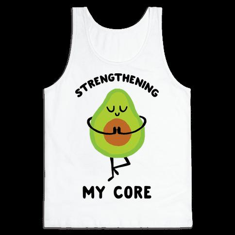 Strengthening My Core Tank Top