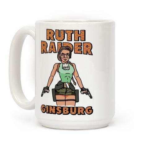 Ruth Raider Ginsburg Parody Coffee Mug