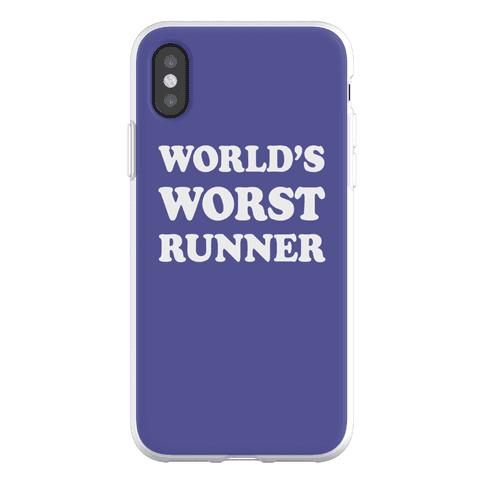 World's Worst Runner Phone Flexi-Case