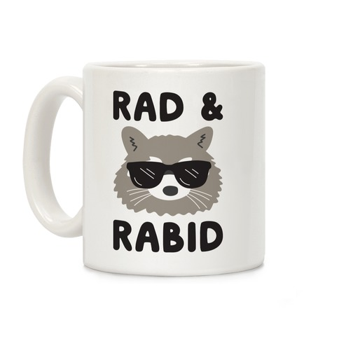 Rad & Rabid Coffee Mug