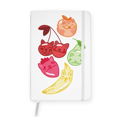Kawaii Fruit Kitties Notebook