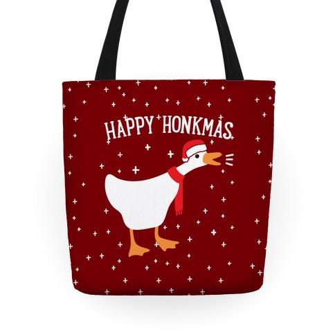 Happy Honkmas Goose Tote