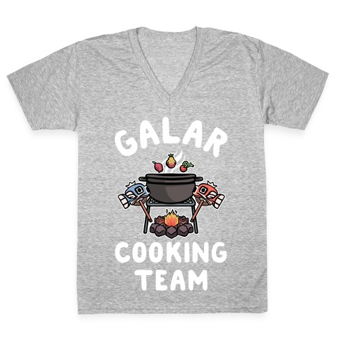 Galar Cooking Team V-Neck Tee Shirt