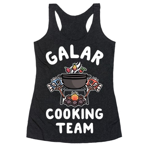 Galar Cooking Team Racerback Tank Top