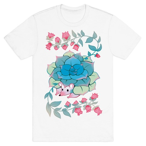 Hedgehog Succulent T-Shirt