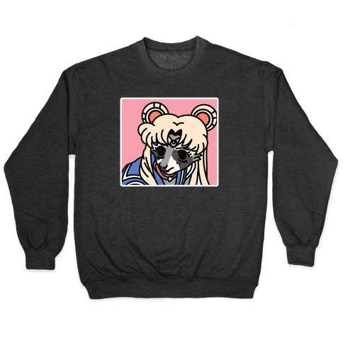 Sailor Moon Redraw Raccoon Pullover