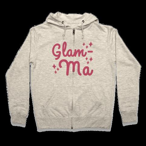 Glam-ma Zip Hoodie