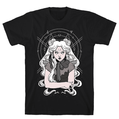 Goth Usagi (Sailor Moon Parody) Mens/Unisex T-Shirt