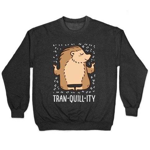 Tran-QUILL-ity - Hedgehog Pullover