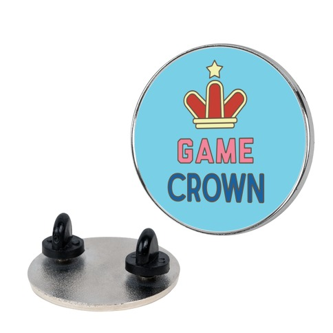 Game Crown Pin