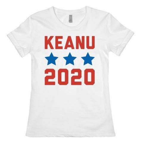 Keanu 2020 Womens T-Shirt