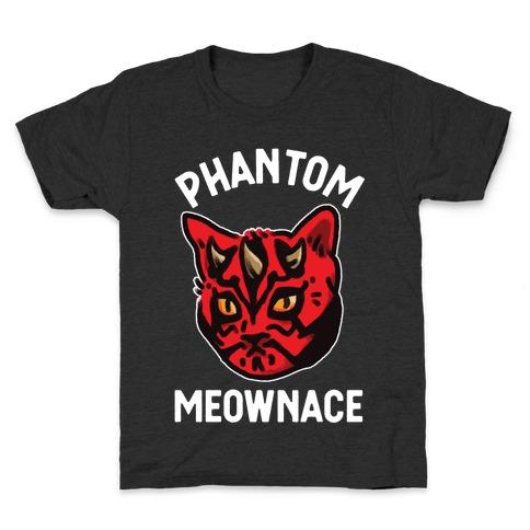 The Phantom Meownace Kids T-Shirt