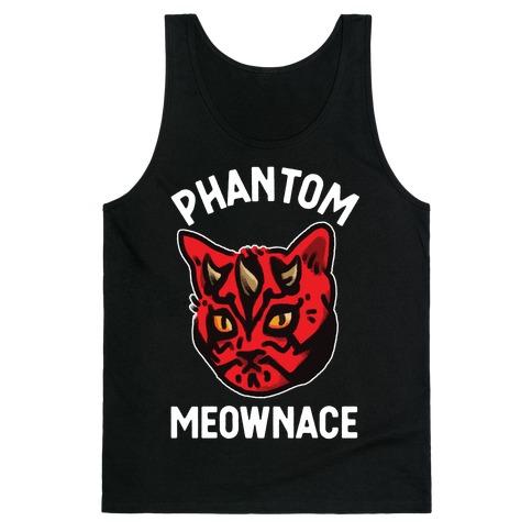 The Phantom Meownace Tank Top