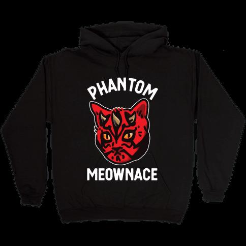 The Phantom Meownace Hooded Sweatshirt