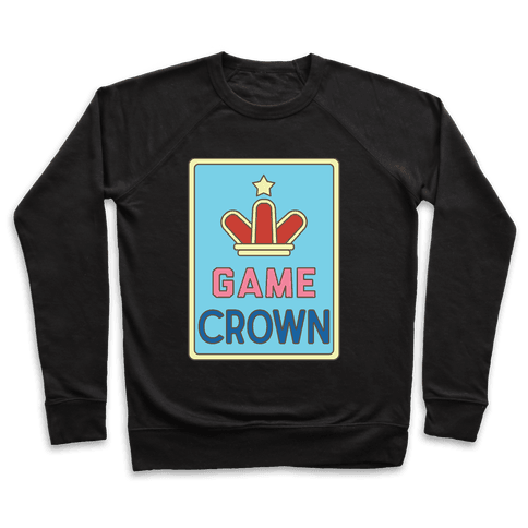 Game Crown Pullover