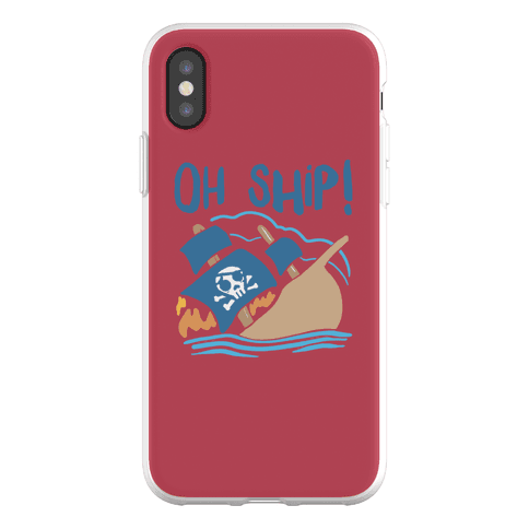 Oh Ship Phone Flexi-Case