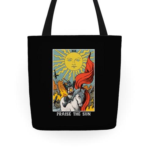 Praise The Sun Tarot Card Tote