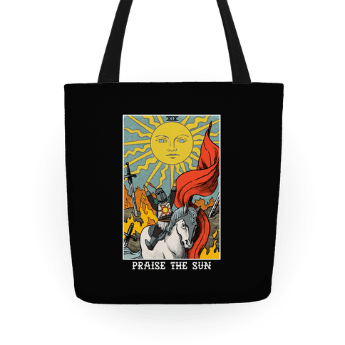 Praise The Sun Tarot Card Tote