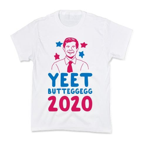 Yeet Butt Egg Egg 2020 Kids T-Shirt