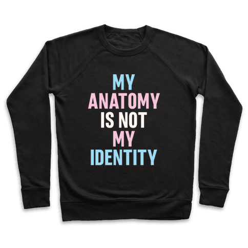 My Anatomy Is Not My Identity Pullover