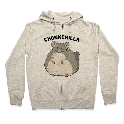 Chonkchilla Zip Hoodie