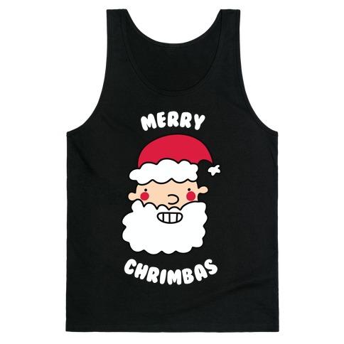 Merry Chrimbas Tank Top