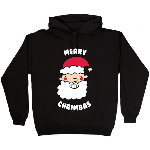 Merry Chrimbas Hooded Sweatshirt