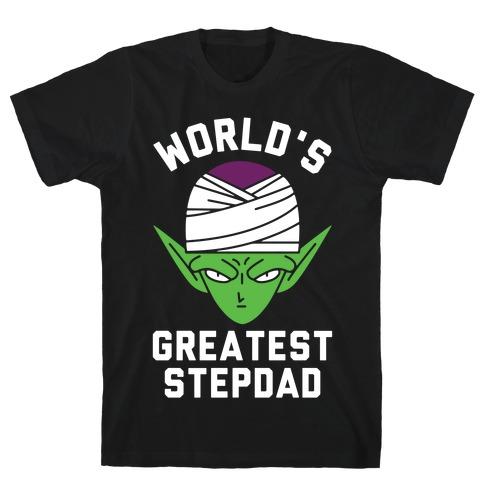 World's Greatest Stepdad Piccolo Parody T-Shirt