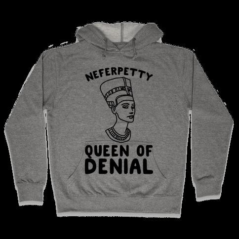 Queen Neferpetty  Hooded Sweatshirt